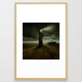The Signal Framed Art Print