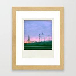 photo by car #1 Framed Art Print