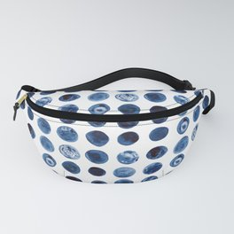 Blueberries | Watercolour Pattern Fanny Pack