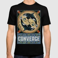Converge Black Mens Fitted Tee MEDIUM