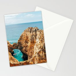 Ocean Landscape, Rocks And Cliffs, Lagos Bay Coast, Algarve Portugal,Wall Art, Poster Decor Stationery Cards