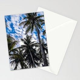 Maldivian Palms Stationery Cards