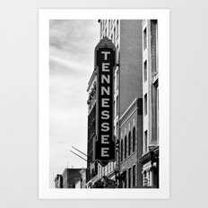 Tennessee Theater - Knoxville Art Print