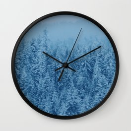 Giant forest Wall Clock
