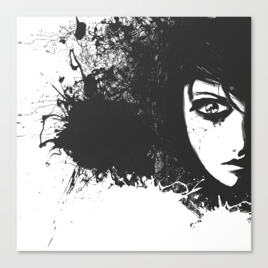 Lost Feelings Canvas Print