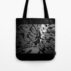 The Walls Close In Tote Bag