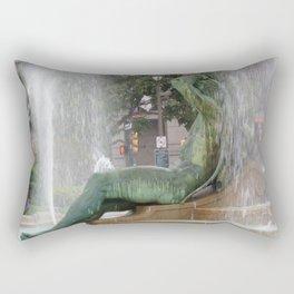 Barns Fountain, Philadelphia, PA Rectangular Pillow