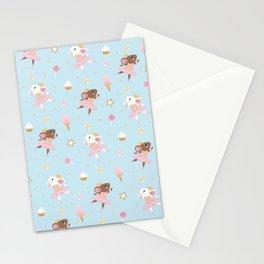Sugar Plum Fairies Pattern Stationery Cards