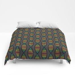Rainbow DNA Comforters