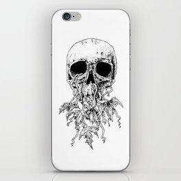 Vinyard Skull iPhone Skin