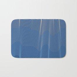 Blue Waves Bath Mat