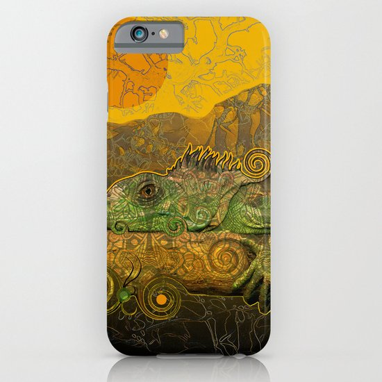 Just Chilling and Dreaming...(Lizard) iPhone & iPod Case