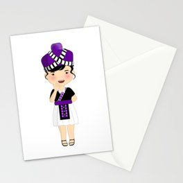 Hmong Cartoon Stationery Cards