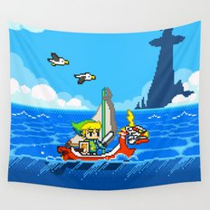 The Legend of Zelda: Wind Waker Advance Wall Tapestry