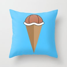 Choco Squirtle Shell Throw Pillow