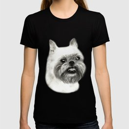 Brussels Griffon Drawing T-shirt