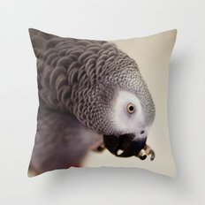 My Nose is Itchy Throw Pillow
