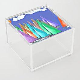 Against the Wind Acrylic Box