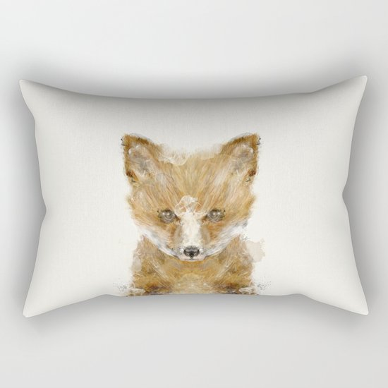 little fox cub Rectangular Pillow