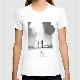 Love Is To Die | Collage T-shirt