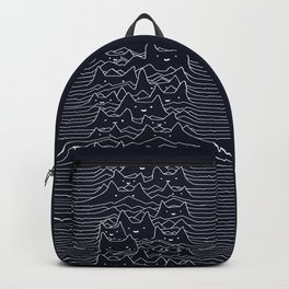 Furr Division Cats (Dark Blue) Backpack