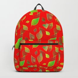 Cascading Nature Pattern Backpack