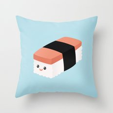Spam Musubi Throw Pillow
