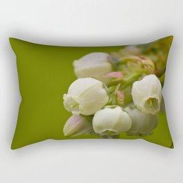 Sweet Blue Cluster Rectangular Pillow
