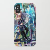 architect iPhone & iPod Cases featuring Heavens Architect by True Last Boss
