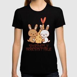 Shrimply Irresistible Kawaii Rabbit T-shirt