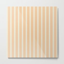 Stripes: Soybean and Sweet Corn Metal Print