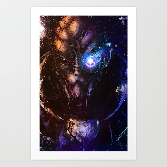 I'm in the middle of some calibrations Art Print