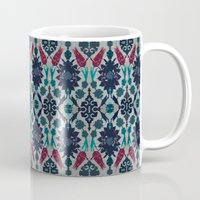 persian Mugs featuring Persian Feel by lalaprints