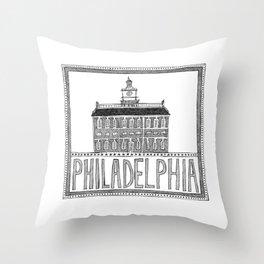 Philadephia Throw Pillow
