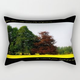 The Changing Colors Of Fall  Rectangular Pillow