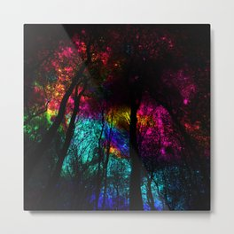 blissful forest iii Metal Print
