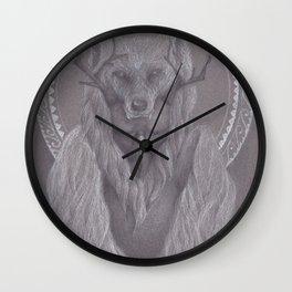 The Shaman Bastard Wall Clock