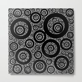 Selected figures from the paper circle black hole Metal Print
