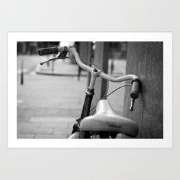 i love bikes Art Print
