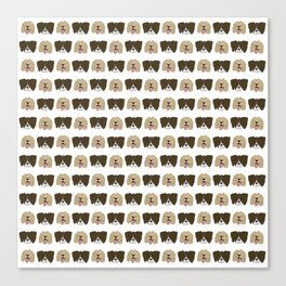 The Spaniels Canvas Print