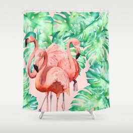 Flamingo Ivelin Shower Curtain