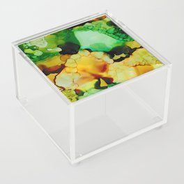 Emerald and Amber Acrylic Box
