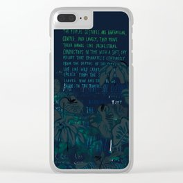 """""""Conquest of the Useless"""" by Werner Herzog Print (v. 8) Clear iPhone Case"""