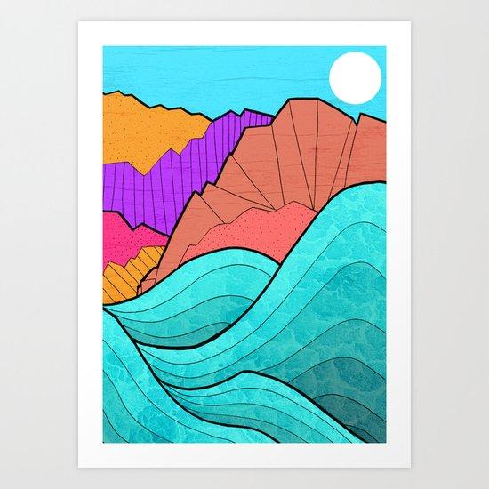 The Rising Tide Art Print