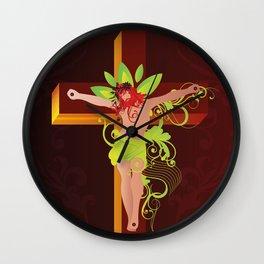 Crucifixion (Crucificação)  Wall Clock