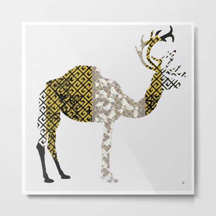 FabCreature · CaDeerPa 4 Metal Print