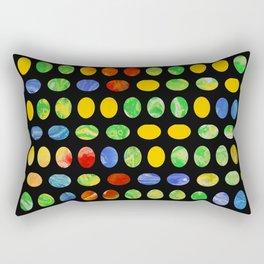 Jelly Beans Rectangular Pillow