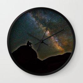 Milky Way Sky Wall Clock