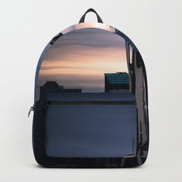 Space Needle Sunset - Seattle Nights Backpack