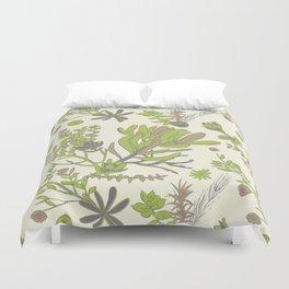 Cream Cradle Flora Duvet Cover